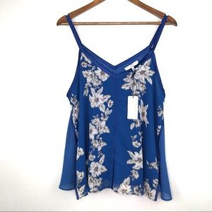 Current Air Floral Top NWT Size L
